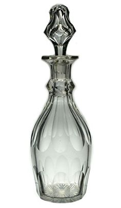 Heavy Port or Sherry Glass Decanter, Antique English, 19th Century Lavish Shoestring http://www.amazon.co.uk/dp/B00NB6N7D2/ref=cm_sw_r_pi_dp_GRwqub0TB8TZS
