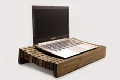 Handcrafted Wood Laptop Stand / Decorative Tray / by WoodWarmth, $89.00