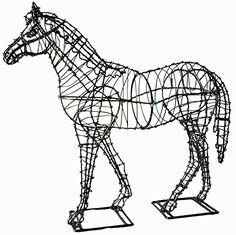 "Topiary Horse 17"" A Green Horizon http://www.amazon.com/dp/B00T219SHE/ref=cm_sw_r_pi_dp_yl0Yvb0KMDETP"