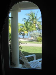 View from beachfront room at Grand Lido Braco!