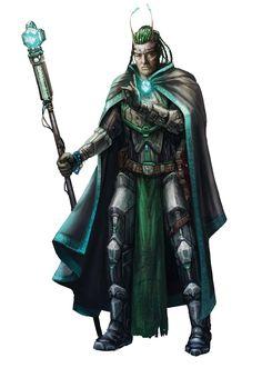 Lashunta Mystic - Starfinder RPG (Core Rulebook Art)