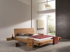 BALKENBETT Hornungsburg - modern wood bed design