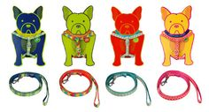 """We get really excited around these parts when the King of Color and Pattern releases new pet products! We're talking about Jonathan Adler, of course — and his new dog harnesses and leashes are out-of-this-world awesome. Their tag-line says """"perfect for posh pups"""" and I agree."""