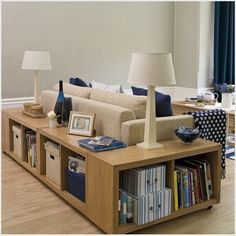 5 Clever Ideas to Use Your Living Room for Storage