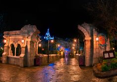 Be Our Guest Restaurant, via Flickr.
