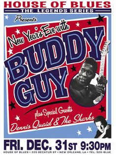 Buddy Guy at the House of Blues