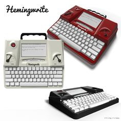 """The Hemingwrite Lets You Type """"Old School"""" with Up-To-Date Tech"""