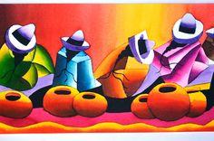 Quirky Art, Whimsical Art, Native Art, Native American Art, Peruvian Art, Inca Tattoo, Mayan Symbols, Mexican Art, Western Art