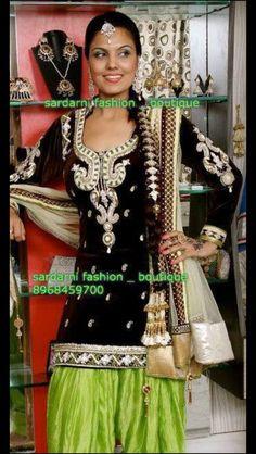 Gorgeous Patiala suit