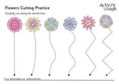 Flowers Cutting Practice