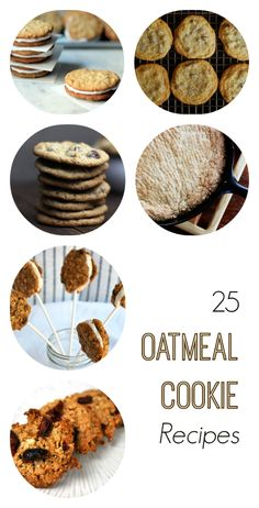 25 Creatively Delicious Oatmeal Cookie Recipes