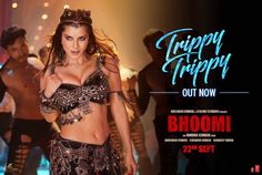 Watch Sunny Leone scintillating performance in #TrippyTrippy from Sanjay Dutt & Aditi Rao Hydari's #Bhoomi