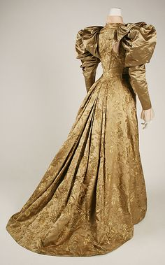 Dress, ca 1895 US, the Met Museum