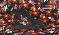 KIX & LIDZ: The Converse x PatBo Collection...Inspired by Patricia Bonaldi's runway collection, Converse introduces an exciting limited edition collaboration. Offering authentic designs in high end executions, the collection features colorful embroideries, sculpted flowers, and a playful pink outsole across a variety of silhouettes.