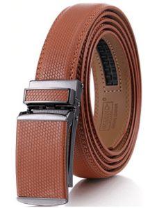 Marino Avenue, Marino Men's Genuine Leather Ratchet Dress Belt Best Leather Belt, Leather Belts, Mens Belts Fashion, Look Good Feel Good, Belted Dress, Belt Buckles, Ratchet, Nice Dresses, Accessories