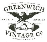 Logo Greenwich Vintage Co.  I love seeing quality products, hand made in the US.