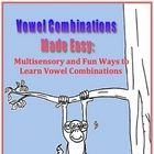 Vowel Combinations Made Easy for Orton Gillingham Programs
