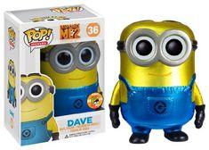 POP Movies (VINYL): Despicable Me - Dave METALLIC FunKo