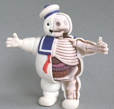 American artist Jason Freeny and his anatomical sculptures of popular toys