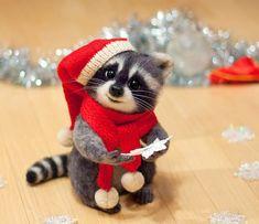 Happy Holidays from Rocket Raccoon!