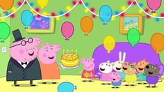 Happy Birthday song ( Traditional) with Peppa Pig Birthday Songs, Pig Birthday, Happy Birthday, Birthday Banners, Peppa Pig Songs, Cumple George Pig, Mini Banner, Peppa Pig Imagenes, Peppa Pig Wallpaper