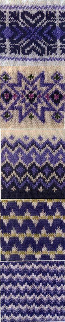 УЗОРЫ ЖАККАРД. Knitting Charts, Knitting Stitches, Hand Knitting, Fair Isle Chart, Fair Isle Pattern, Stitch Patterns, Knitting Patterns, Crochet Patterns, Tejido Fair Isle