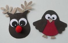 Rudolph and a robin