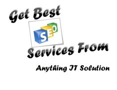 Seo services by Anything IT Solution in Ahmedabad
