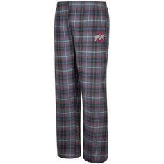 Ncaa Ohio State Men's Dreamer Plaid Pant, Size: XL, Gray