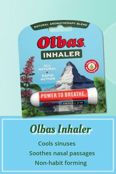 Instantly get the power to breathe with the blend in OLBAS INHALER. It delivers fast-acting, relief for and respiratory discomforts. Sinus Relief, Clove Essential Oil, Feeling Under The Weather, Nasal Passages, Natural Oils, Herbal Remedies, Aromatherapy, Peppermint, Feel Good