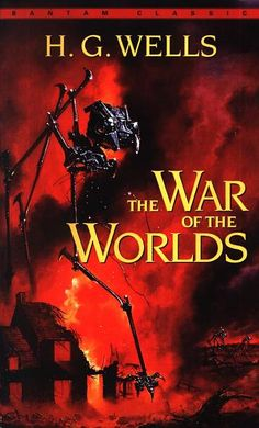 The War of the Worlds - Bantam, 2003 | Cover art by Les Edwards | Graphical elements: Tripods