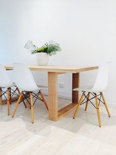 The Elegant Simplicity Of Our Loop Leg Table Contemporary In Design And Minimalistic
