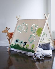 Art House How-to - perfect kids' indoor hideout