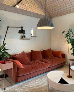 Home Living Room, Living Room Decor, Living Spaces, Living Room Inspiration, Interior Inspiration, Living Comedor, Sweet Home, Interior Design Living Room, Sofas