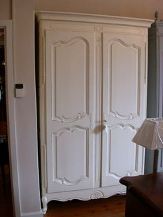 French Provincial Louis XV Style Armoire