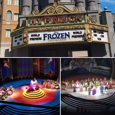 A magical day today was.  Frozen Live! has great performers and amazing visual effects. A definite must see show. I wanna see it again soon.  #disney #disneyland #hyperion #disneycaliforniaadventure #frozen #frozenliveatthehyperion #elsa #anna #elsaandanna #olaf #kristoff #sven #letitgo #firsttimeinforever #worldpremiere by amartist17