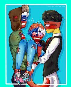 Hetalia, Dont Hug Me, Mundo Comic, Country Art, Anime Kawaii, Chi Chi, Fanart, Yandere, Iron Man