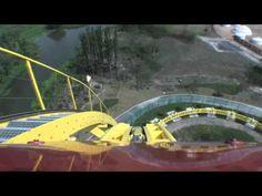 Intamin Mega Lite 蓝月飞车 Roller Coaster Front Seat POV Onride Happy Valley Shanghai China