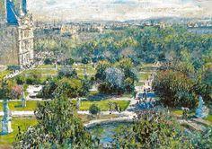 Claude Monet - Les Tuileries, 1876 at Musée Marmottan Monet Paris France