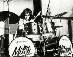 Mitch Mitchell of The Jimi Hendrix Experience