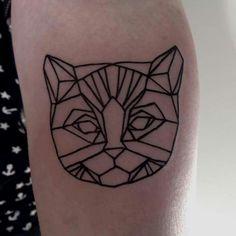 Cattoo! By jessi james at black rabbit tattoo studio
