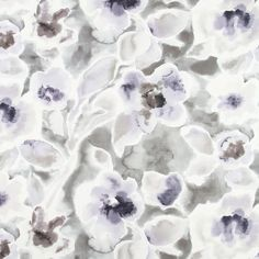 An abstract floral upholstery fabric in charcoal, silver grey, lavender, violet and ivory. This multipurpose fabric is suitable for light furniture upholstery, drapery, throw pillows, fabric headboards and bedding. See additional color links, curtain information and custom pillow cover pricing below. This listing is for fabric by the yard.  FABRIC SAMPLES:  Fabric Name for Sample Order: Eden Valley Order Fabric Swatches Here: https://www.etsy.com/listing/125101789/fabric-sample-order  FABRIC…