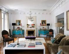 Eclectic mix of modern and antique