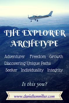 visual of the Explorer Archetype