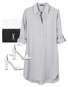 """Untitled #3947"" by amyn99 ❤ liked on Polyvore featuring Luv Aj, Yves Saint Laurent, United by Blue and My Delicious"