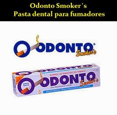 Odonto Smoker´s - Pasta dental para fumadores   OdontoFarma