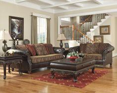 Bradington Truffle Truffle Sofa And Loveseat By Ashley Furniture Home Pinterest