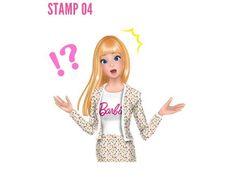"Lily Brown公式さんのツイート: ""Lily Brown meets Barbie コラボスタンプはもうGETしてくださいましたか☺︎…"