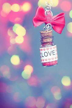 Love is the only thing in the world who makes is PERFECT