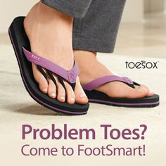 Improve your balance and posture with ToeSox Reina sandals. Buy 2 or more & save $5!
